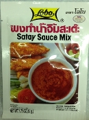 Lobo Satay Sauce Mix Pack