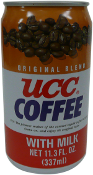UCC Coffee Can With milk