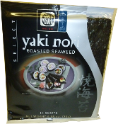 YMY Roasted Seaweed (Yaki Nori) Silver Selected