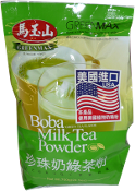 GREENMAX Boba Milk Tea Powder (Green Tea Flavor)