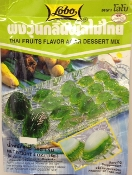 Lobo Thai Fruits Flavor Agar Dessert Mix