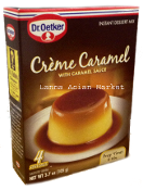 Cream Caramel With Caramel Sauce