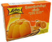Lobo Orange Flavoured Gelatin Desert