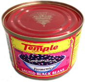 Temple Brand Salted Black Beans