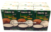 AROY-D 100% coconut Milk Small (6pack/8.5 oz)