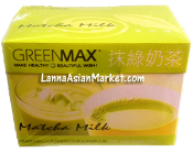 GREENMAX Milk Tea Powder (Green Tea Flavor)
