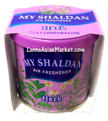 "My Shaldan Air Freshener ""Herb"""