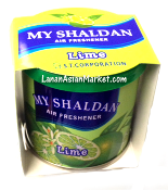 "My Shaldan Air Freshener ""Lime"""