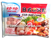 Jane Jane Hot Pot Frozen Fish Ball Combo