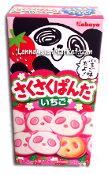 Saku Saku Panda Wheat Cracker <Strawberry>