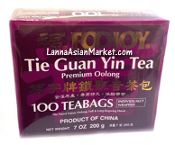 "FOOJOY Tie Guan Yin Tea ""Premium Oolong"" <100 Teabags>"
