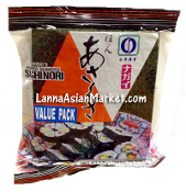 Nagai Roasted Seaweed Sushi Nori Value Pack
