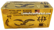 3 Ballerina tea Ginseng Slim Power