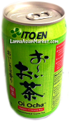 ITOEN Unsweeten Green Tea <Can>