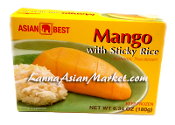 Asian Best Mango with Sticky Rice