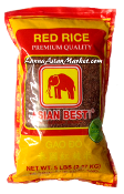 "Asian Best Red Rice ""Long Grain)"