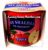 "My Shaldan Air Freshener ""Apple"""