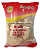 Golden Flower Dried Lotus Sliced