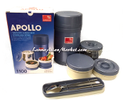 Apollo Vacuum Lunch Box Stainles Steel